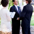 Royalty-Free Stock Photo: Gay Marriage - Saying Vows