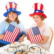 Tea Party Patriots - Stock Photo