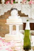 Gay Marriage - Wedding Cake — Stock Photo