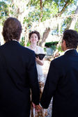 Gay Wedding Ceremony — Stock Photo