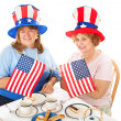 Tea Party Patriots - Stockfoto