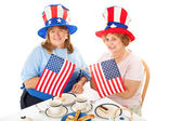 Tea Party Patriots — Stock Photo