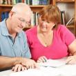 Adult Education Couple — Stock Photo