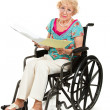 Disabled Senior - Medical Bills — Stock Photo #8592434