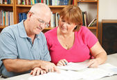 Adult Education Couple — Stock Photo