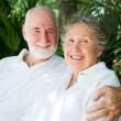 Senior Couple in the Tropics — Stock Photo #8695171