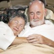 Senior Couple Asleep — Stock Photo #8850978