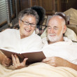 Reading Together at Bedtime — Stock Photo #8851446