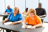 Adult Education Class - Exams — Stock Photo