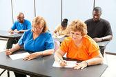 Adult Education Class - Exams — Stock Photo
