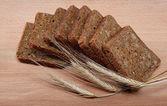 Fresh bread isolated. — Stock Photo