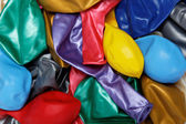 Color balloons isolated — Fotografia Stock
