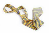 Luxury tie on white background — Stock Photo