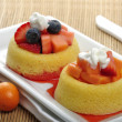 Fruit Tart Cakes — Stock Photo
