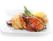 Grilled Lobster Tail — Stok fotoğraf