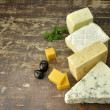 Cheese Assortment — Stock Photo #8375296