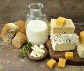 молочные продукты — Стоковое фото