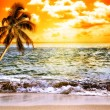 Ocean At Sunset — Stock Photo