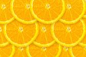 Fresh orange background — Stock Photo
