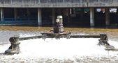очистные сооружения сточных вод — Стоковое фото