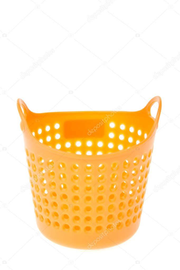 Colorful plastic basket — Stock Photo #8681663