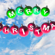 Stock Photo: Happy new year, Christmas decoration background