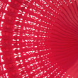 Wooden red fan — Stock Photo #9086815