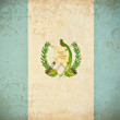 Old grunge paper with Vatican City flag background — Stock Photo