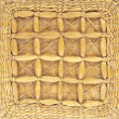 Wicker basket  background - Foto de Stock  