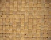 Wicker wood pattern background — Stock Photo