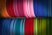 Colorful bracelets — Stock Photo