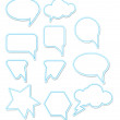 Royalty-Free Stock Vector Image: Chat bubbles