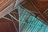 Structure of thatch roof — Stock Photo