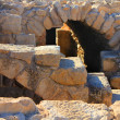 Stock Photo: Ruins of an ancient Roman city in Israel