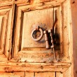 Gate to temple of Holy Sepulcher (detail) — Stock Photo #9772828