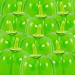Green Capsicum annuum or Sweet Pepper or Bell Pepper or Capcicum — Stock Photo #9615072
