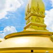 Gold temple in Wat nong pah pong and blue sky — Stock Photo