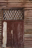 Old wood door — Stok fotoğraf