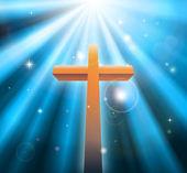 Christian religion cross — Stock Vector