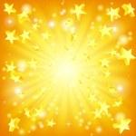 Exploding stars background — Stock Vector