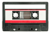 Retro cassette tape — Stock Photo