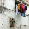Clothes drying - Stock Photo