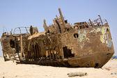 Oxidized boat — Stock Photo