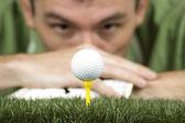 Joueur de golf — Photo