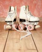 旱冰鞋 — 图库照片