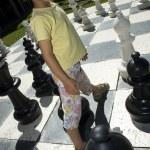 Lifesize chess — Stock Photo #9349689