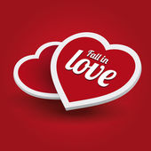 Fall in love — Stock Vector