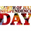 United States of America - Independence day — Image vectorielle