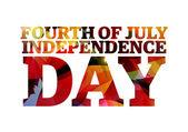 アメリカ合衆国 - 独立記念日 — ストックベクタ