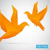 Two Birds — Stock Vector
